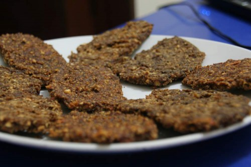 Gardūs džiovinti migdolų sausainiai
