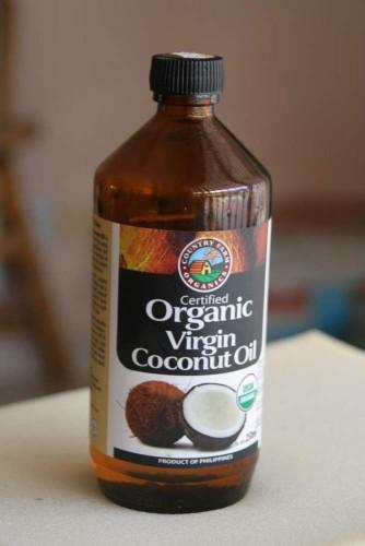 Šalto spaudimo organinis kokoso aliejus