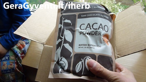 cacao-iherb-unboxing